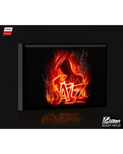 Jazz DESIGN Obraz z oświetleniem LED prostokątny