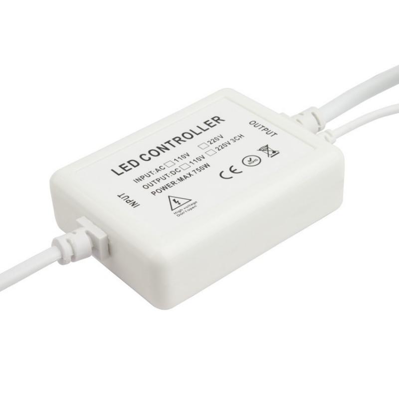 Power supply 230V for LED Neon Flex RGB multicolour + RGB driver