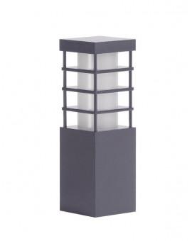 Lampa stojąca zewnętrzna Rado II Ciemny Popiel 25 cm