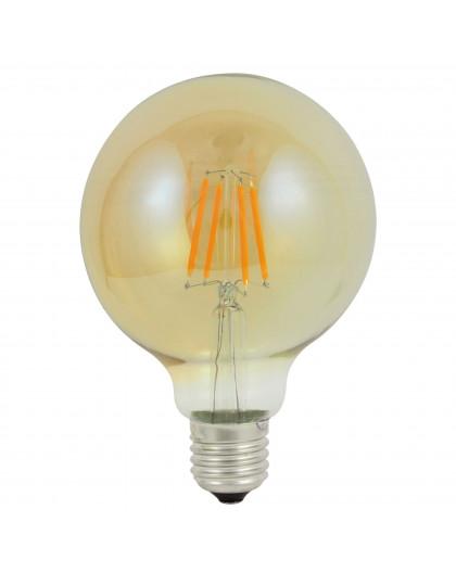 Filament LED G95 E27 4W Lampa LED Vintage Edison