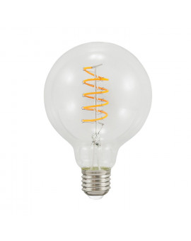 Filament G95 Spirala Dekoracyjna lampa LED Vintage Edison