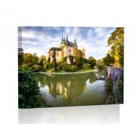 Zamek Bojnicki Obraz podświetlany LED