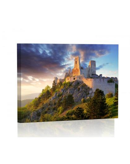 Zamek w Čachticach Obraz podświetlany LED