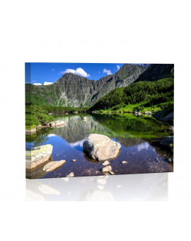 Rohackie Ponds in the Tatras Lamp backlit