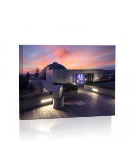 Planetarium w Brnie Obraz podświetlany LED