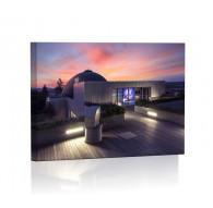 Planetarium in Brno Lamp backlit