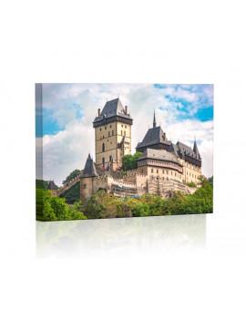 Zamek Karlsztejn w Czechach Obraz podświetlany LED