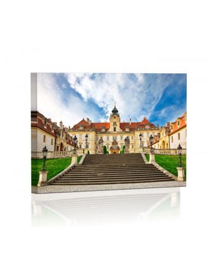 Pałac w Valtice Obraz podświetlany LED
