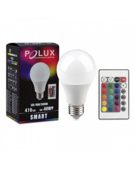 E27 6W RGB + WW bulb with remote control
