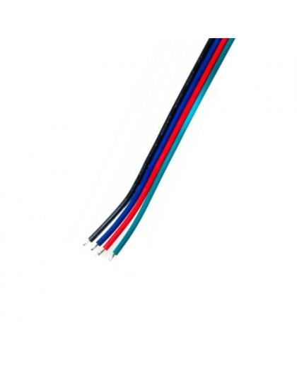 Przewód do taśm LED RGB 4 x 0,2 mm