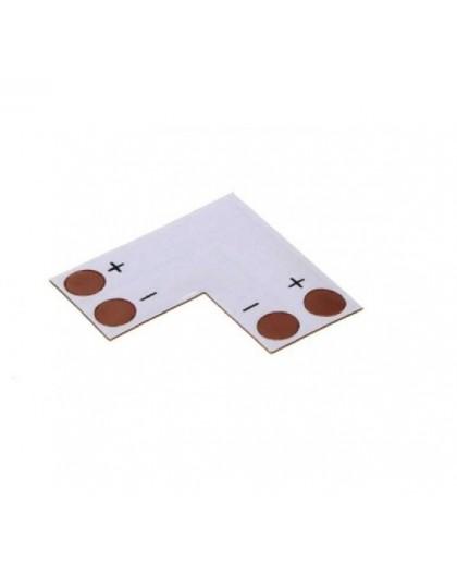 Złączka narożna PCB do taśm LED 8 mm