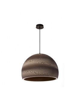 Hanging LED lamp ARTE cardboard