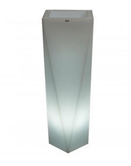 Flower Pot LED Rossa 75 - 90 cm