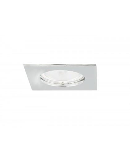 Ceiling downlight aluminium square colors