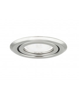 Ceiling downlight steel round graphite