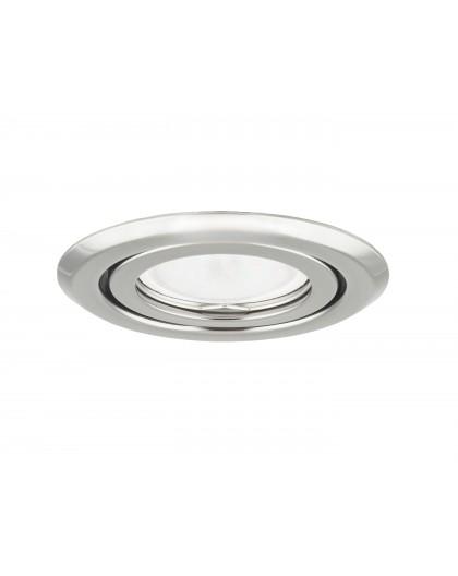 Ceiling downlight steel round graphite