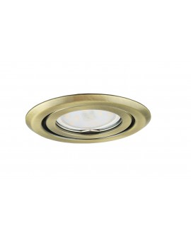 Ceiling downlight steel round brass