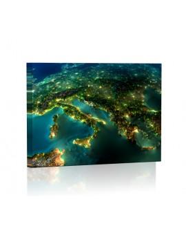 Europa Obraz podświetlany LED