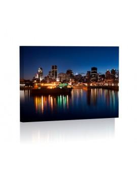 Montreal Obraz z oświetleniem LED prostokąt