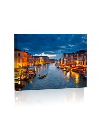 Image backlit LED rectangle