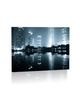 Shanghai at night LED Lamp backlit
