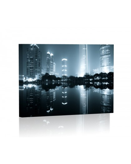 Image backlit LED rectangle
