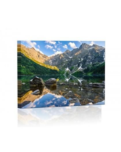 Morskie Oko Tatry DESIGN rectangular