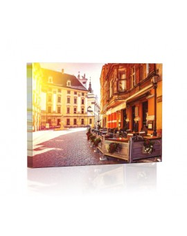 Stare Miasto Wrocław DESIGN Obraz z oświetleniem LED prostokątny