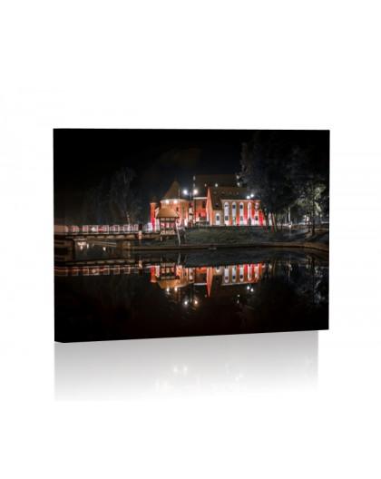 Zamek w Giżycku DESIGN Obraz z oświetleniem LED prostokątny