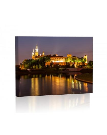 Wawel DESIGN Obraz z oświetleniem LED prostokątny