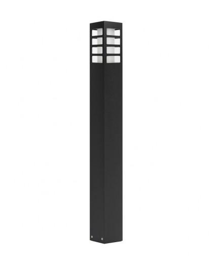 Nowoczesny słupek ogrodowy Rado III 75 cm czarny