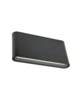 Elegant outdoor wall lamp Slim black
