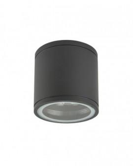 Classic garden lamp round Adela Midi dark grey