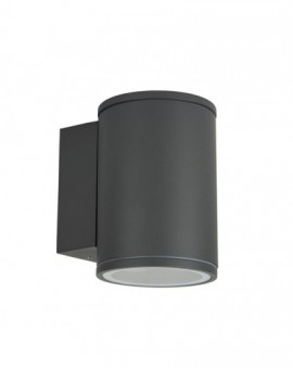 Classic outdoor wall lamp Adela Midi dark grey