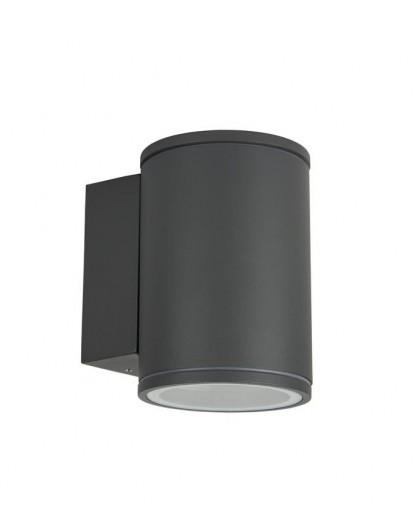 Classic outdoor wall lamp Adela Midi dark grey
