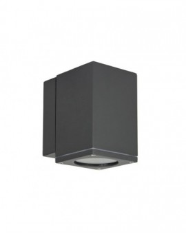 Modern outdoor wall lamp square Adela Midi