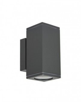 Modern outdoor wall lamp to-way Adela Midi