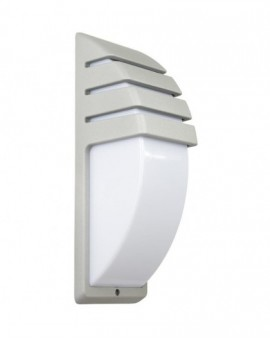 Modern outdoor wall lamp City silver