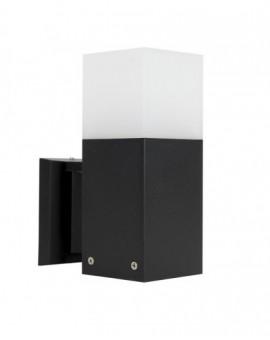 Modern outdoor wall lamp Cube black