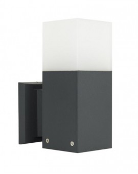 Modern outdoor wall lamp Cube dark grey