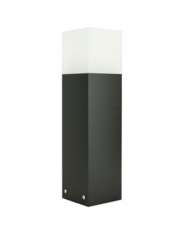 Modern garden lamp Cube Max 40 cm black