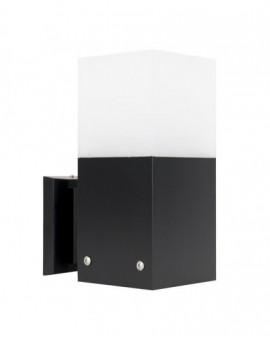 Modern outdoor wall lamp Cube Max black