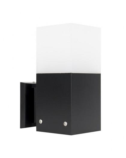 Nowoczesny kinkiet zewnętrzny Cube Max czarny