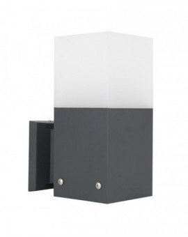 Modern outdoor wall lamp Cube Max dark grey