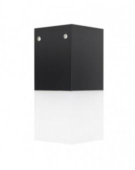 Nowoczesna lampa ogrodowa Cube Max czarna