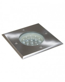 Ground recessed lights square Leda
