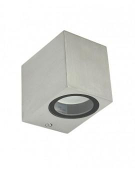 Nowoczesny kinkiet zewnętrzny Mini szczotkowane aluminium