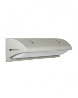 Modern outdoor wall lamp Nelly 91012C silver