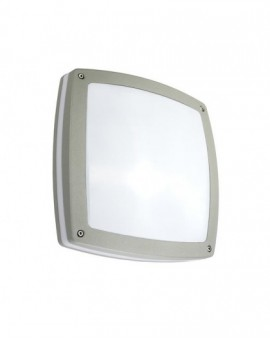 Modern outdoor wall lamp Nex silver