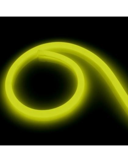 Neon LED PRO 230V 360° Żółty 5m